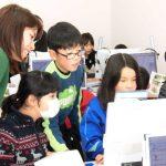 防災教室で行った地域学習(信里小学校 2017年12月)